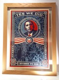 obama obey yes we did signed shepard fairey