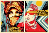 GOLDEN FUTUR / SHEPARD FAIREY (OBEY).