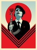 PEACE GUARD 2 / SHEPARD FAIREY (OBEY).