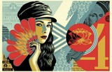 FAN THE FLAMES / SHEPARD FAIREY (OBEY).