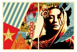 Welcome Visitors/ SHEPARD FAIREY (OBEY).